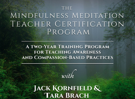 Mindfulness Meditation Teacher Certification Program