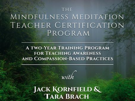 Mindfulness Meditation Teacher Certification Program