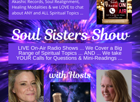 Soul Sister Show on Scrolls of the Soul Radio