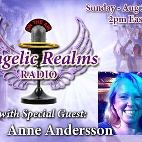 Angelic Realms Radio Show August 27th 2017