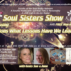 Illusions What Lessons Have We Learned? with Soul Sisters Show October 28th 2021