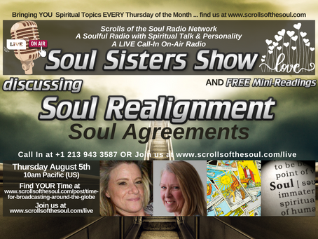 Soul Realignment with Sisters Show Thursday August 5th 2021