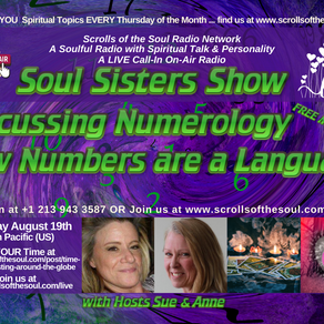 Numerology How Numbers are a Language with Sisters Show Thursday August 19th 2021