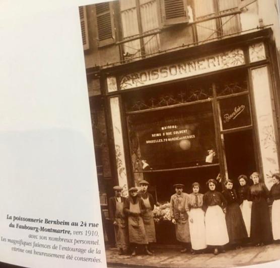 Poissonnerie historique de Paris avant Salina