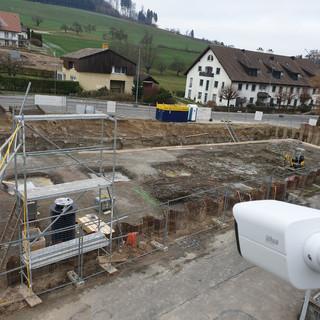Baustelle Überwachung
