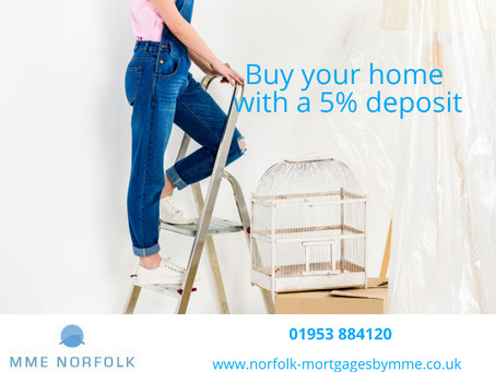 Buy your home with a 5% deposit