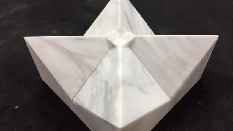 2.5D Abrasive waterjet cutting on Limestone
