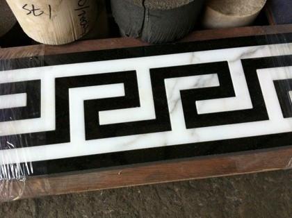 Floor border pattern