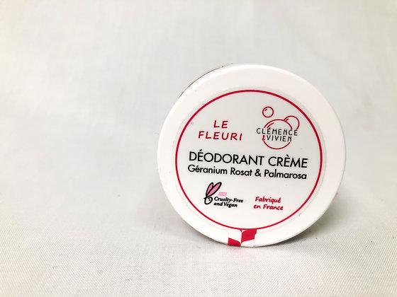Déodorant crème Géranium Rosat et Palmarosa
