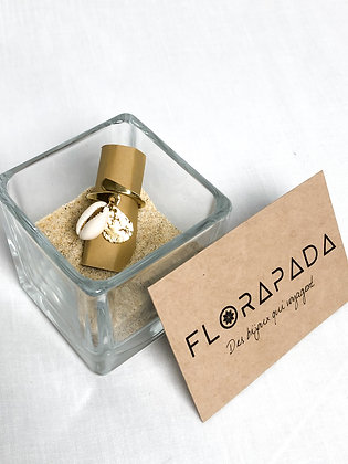 Bague Florapada Coquillage