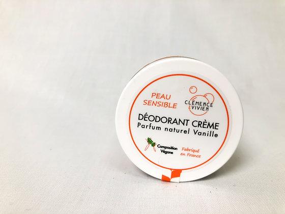 Déodorant crème Parfum Naturel Vanille