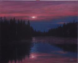 Moon on the Lake