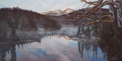 Morning Mist on Douglas Lake