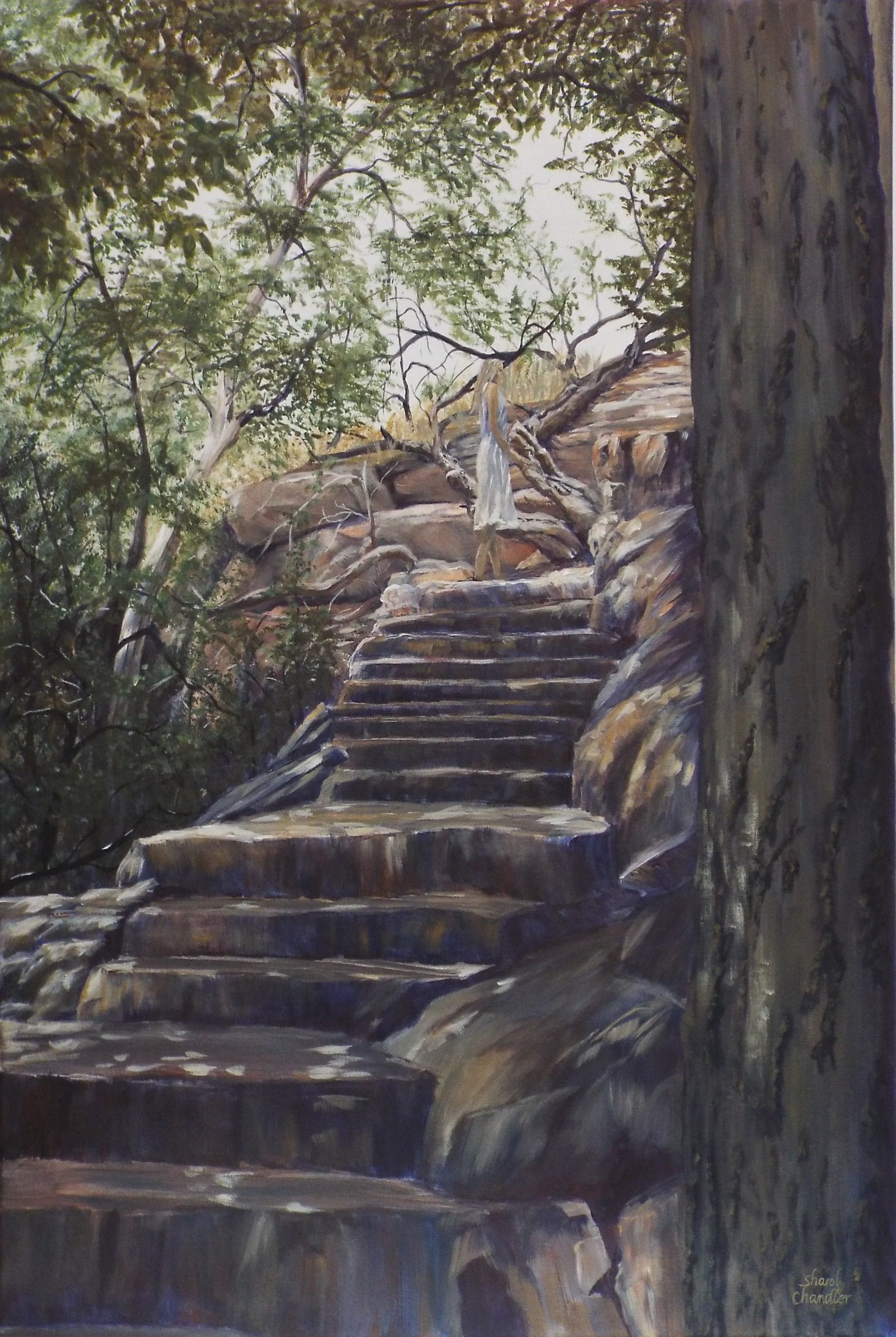Stairway by the Well