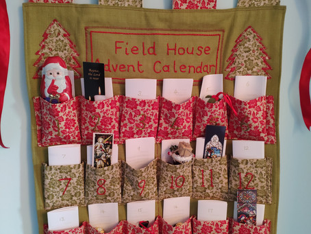 By popular demand - instructions for making the fabric Advent Calendar
