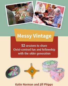 New Messy Vintage book - out this month!
