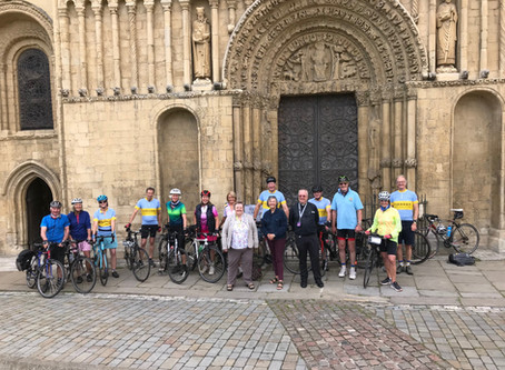 Cathedral to cathedral by bike