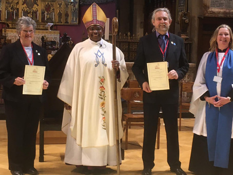 Two more Anna Chaplains commissioned at the weekend... this time in Kent!