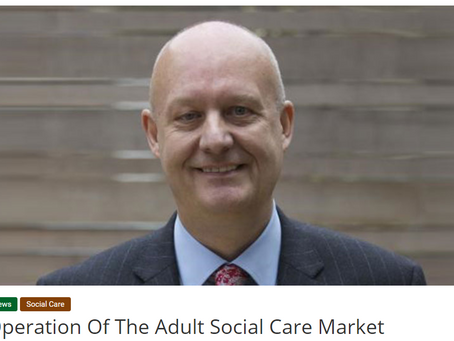 Call for a new vision for adult social care