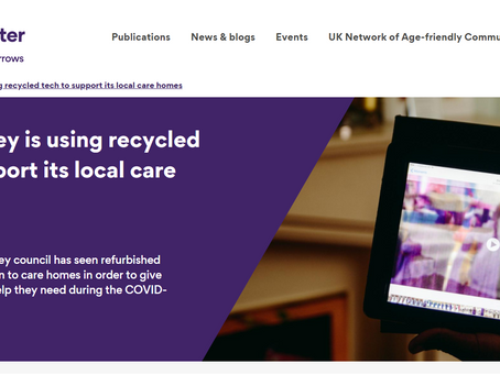 Technical support for care homes