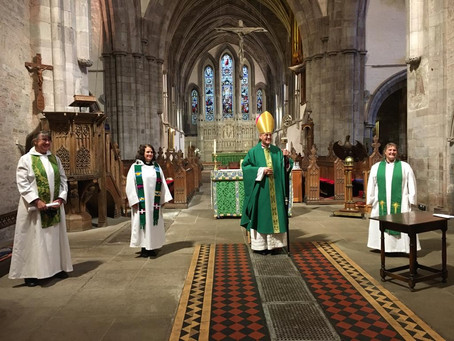 The first three Anna Chaplains for Wales