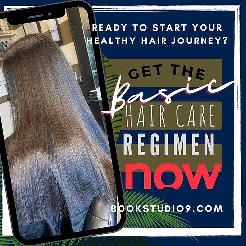 BASIC HAIR CARE REGIMEN