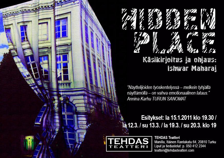 Hidden Place postcard