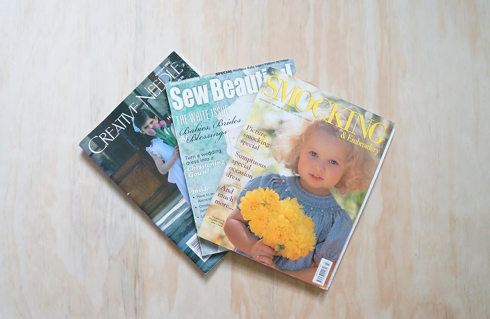Smocking magazines