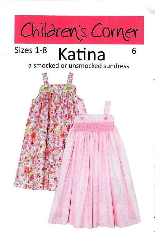 Katina Smocked Sundress Pattern