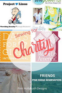 Sewing for Charity