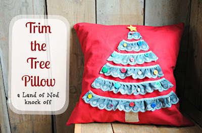 Trim the Tree Pillow