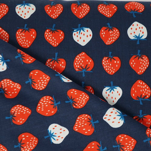 Strawberry Fields Poplin Cotton + Steel