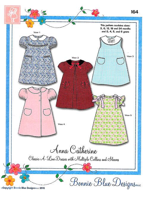 Anna Catherine Child's Dress Sewing Pattern