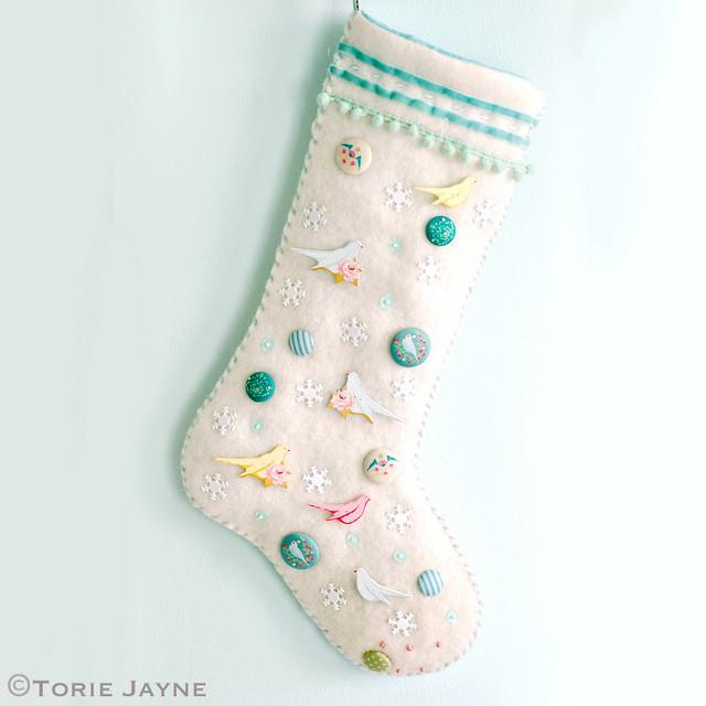 Embellished Stocking
