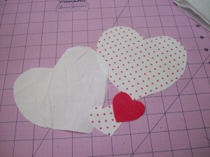 Hearts cut out