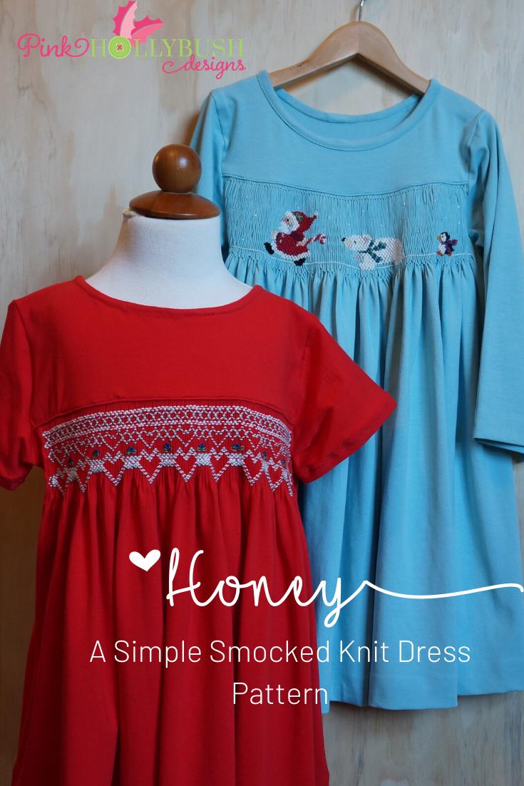 Honey Smocked Dress Pattern