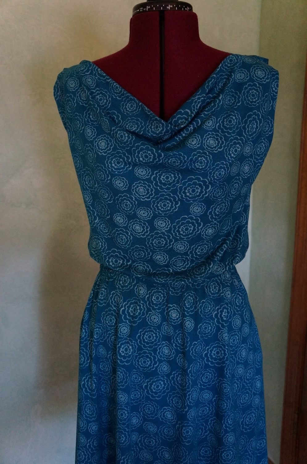 Myrtle Dress in Blue