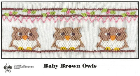 Baby Brown Owls