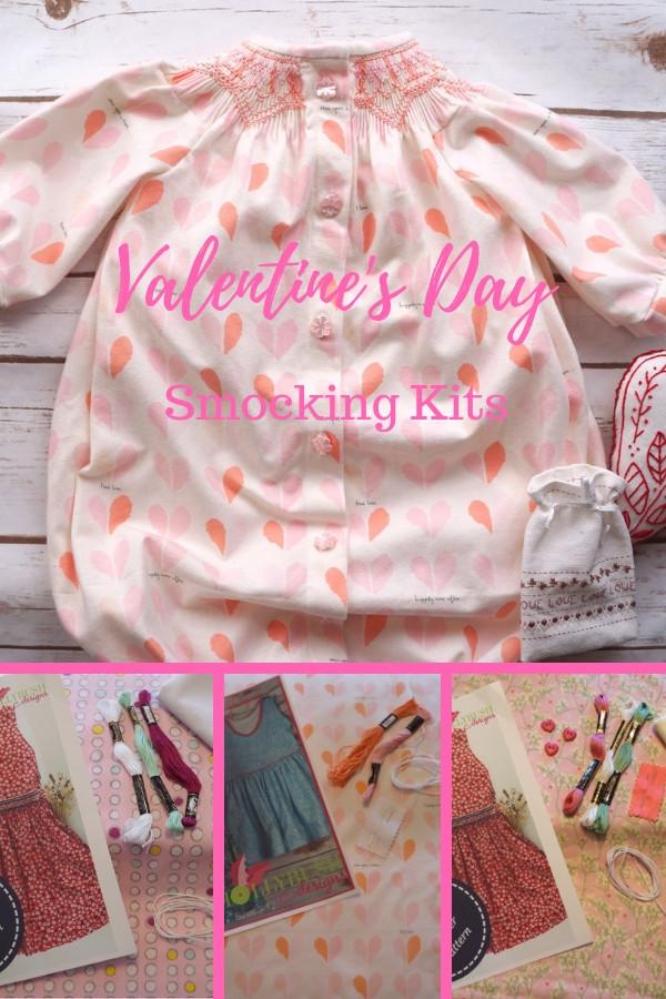 Valentine's Day Smocking Kits