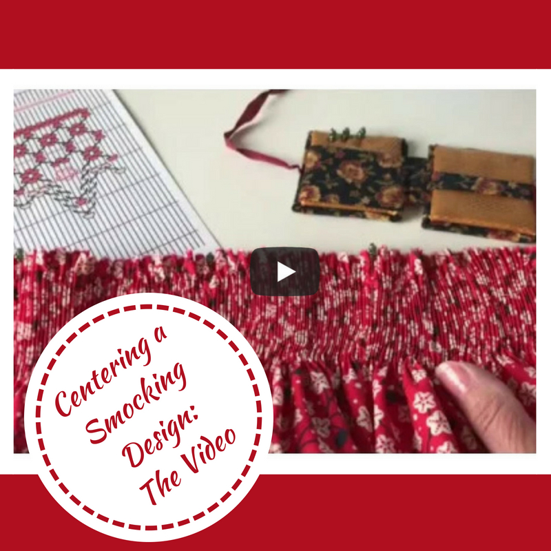 Video on Centering a Smocking Design