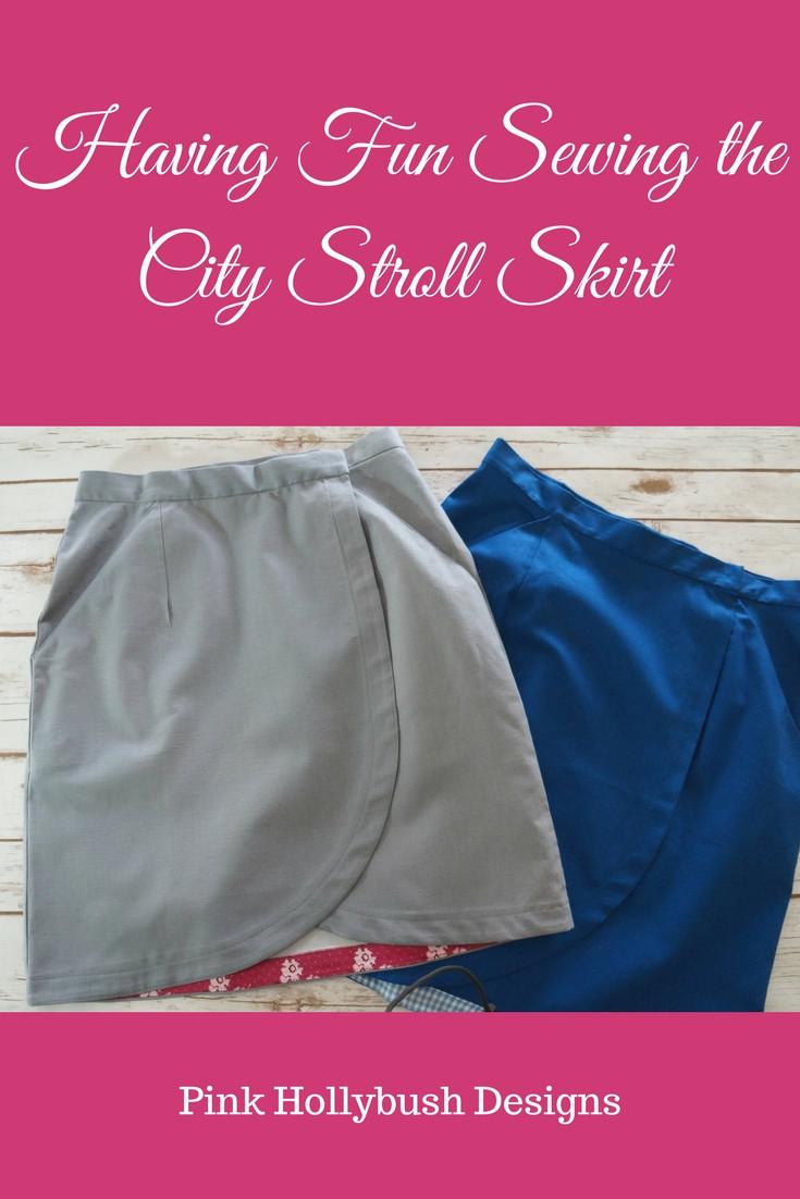 Having Fun Sewing the City Stroll Skirt