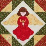 Applique Angel quilting Pattern