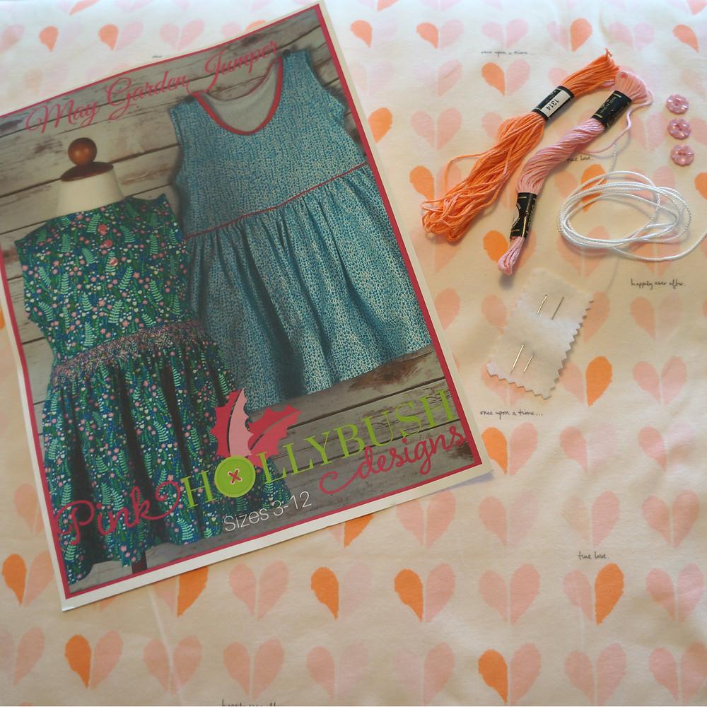 May Garden Smocked Knit Valentine's Day Kit