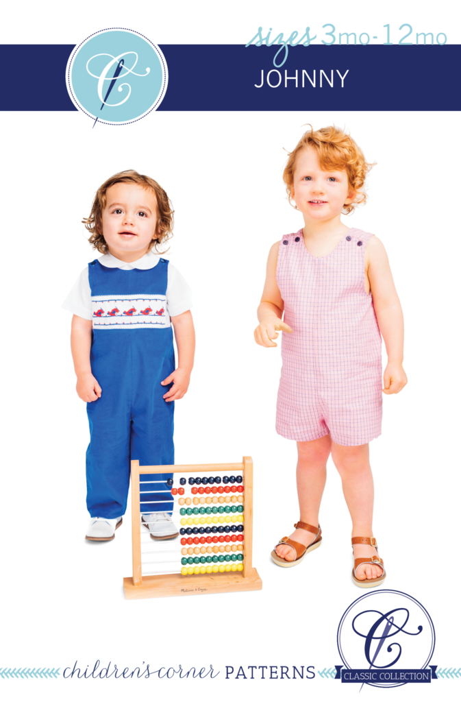 Johnny Romper sewing pattern