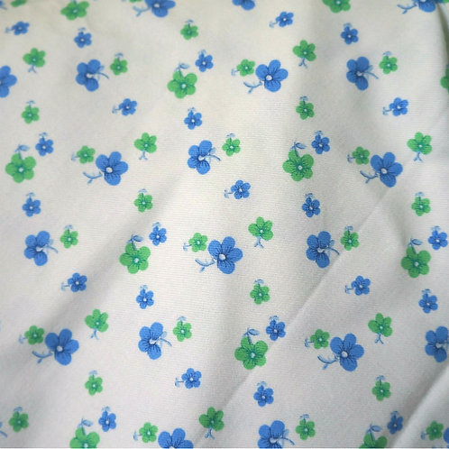 Green Pansy Twill