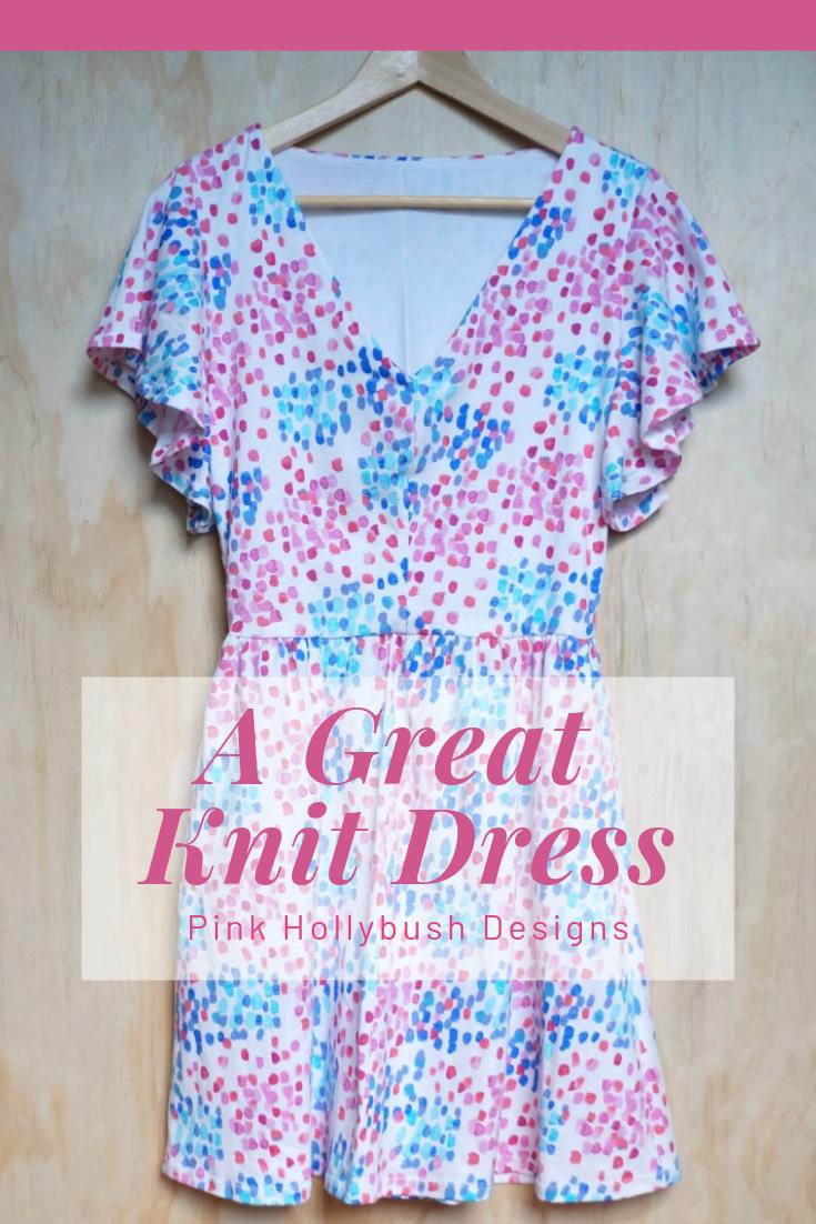 Bobby knit dress from Seamwork magazine
