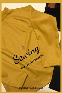 Sewing the Talvikki Sweater