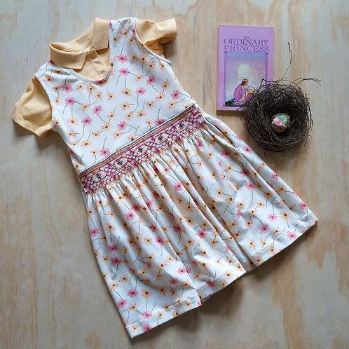May Garden Smocked Skirt Kit