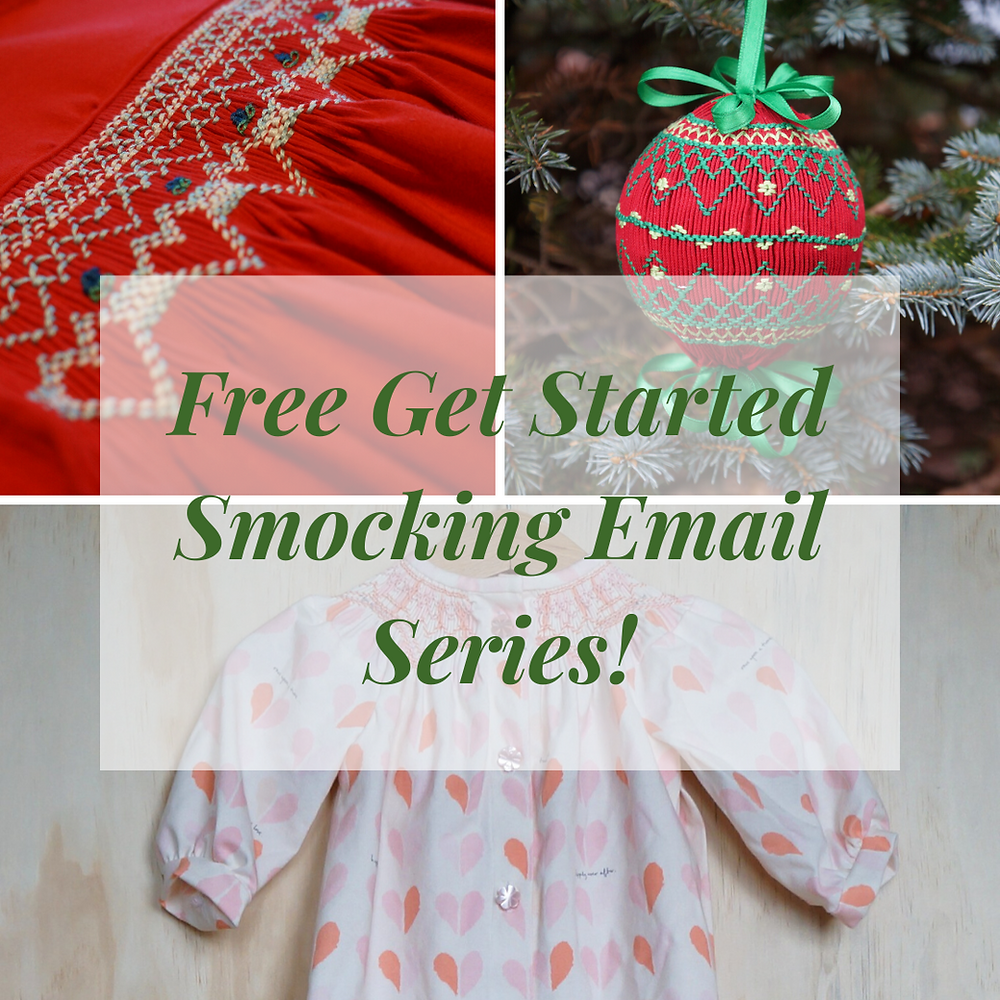 Free Get Started Smocking Email Series