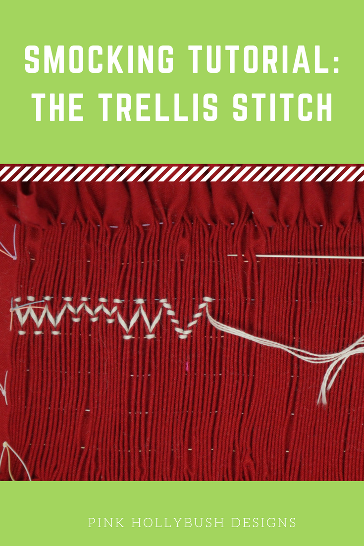 Smocking Tutorial: The Trellis Stitch